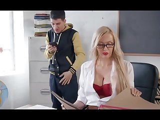 Naughty Jordi fucked by MILF teacher
