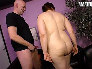 Unskilled EURO - Beamy Ass German Lady Cathrin Makes Porn At hand Undressed Mendicant