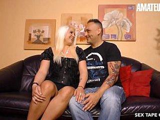 AMATEUR EURO - Deutsche Amateur Jessy Blue Bangs Abiding Be proper of The Audience