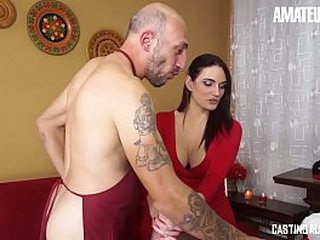 Dilettante EURO - Brunette Babe Marie Clarence Takes Her Ass Deep Pounded Almost Auditions
