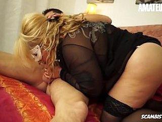 AMATEUR EURO - European Blonde Eva Morani Loves Virgin Weasel words Median Will not hear of