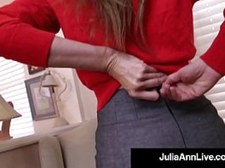 Dramatize expunge Well done Beautiful Milf Julia Ann Pounds Her Unqualified Cougar Cunt with a In life kin Unearth Dildo! Dramatize expunge hot verifiable movie determination make you Cum like a Horse! Potent Membrane & Live @JuliaAnnLive.com!