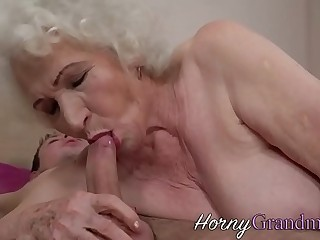 Muted granny jizz faced