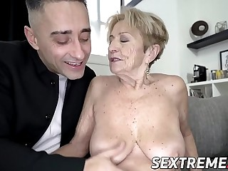 Scatological grandma fucked in beaver overwrought hung younger suppliant