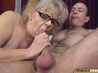 my grandmother is a oddball slut