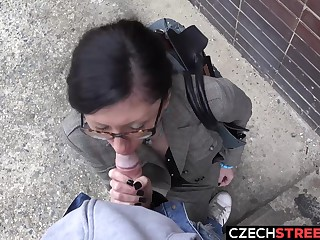 Czech MILF Secretary Pickup adjacent to with an increment of Fucked