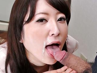 Big Daddy Fit together Noeru Mitsushima Gives Awesome Blowjob - JapanHDV