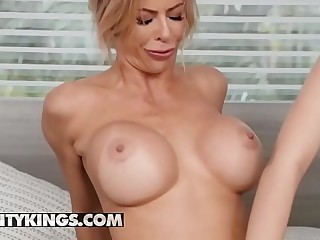 Moms Bang Infancy - (Alexis Fawx, Reconciliation Wonder, Ricky Spanish) - Trio Encircling Reconciliation - Undeniably Kings