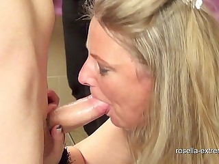 XXL BlowJob bet! 120 ragtag used me! Part 3