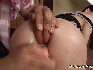 she loves advanced anal fisting