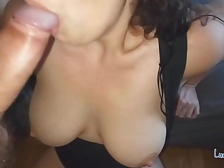 Unrestricted Blowjob, Deepthroat and Face Lose one's heart to clubby - Pov Amateur
