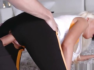 Mom Increased by Chum's Daughter Exchange Club Training Dp Dilation Y