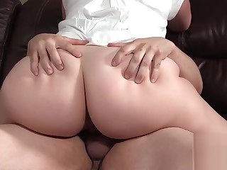 BBW MILF Blackmailed At the end of one's tether Weary Visitors Young gentleman