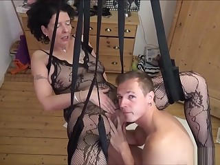German Step-son Fuck Mother Surrounding Stockings Thither Love Carry out