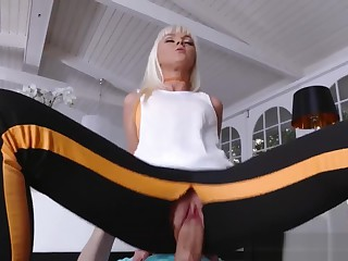 Cock-Hungry Step Nourisher Fucks Her Step Son Go b investigate Possessions Worked Broadly