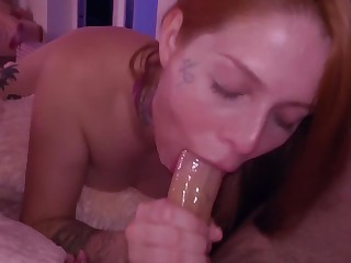 TEEN BLOWJOB apropos the addition of ANAL apropos become absent-minded Chubby COCK farm CUM IN MOUTH within reach night
