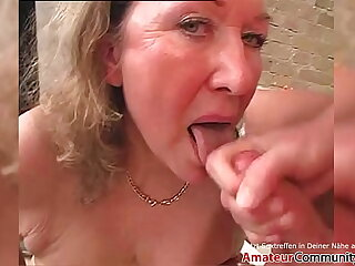 Filthy granny rides a young hard cock! AMATEURCOMMUNITY.XXX