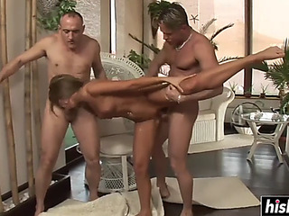 Hawt alternative other enjoys 2 hard dicks
