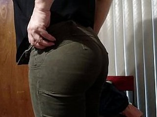 Amateur become man ass