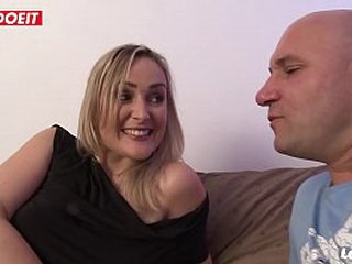 Amateur matriarch banged hardcore in artful time casting