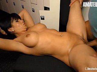 AMATEUR EURO - Tasty East European MILF Gabriela K. Blows And Rides Chunky Cock On Cam