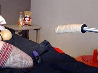Hot Crestfallen Girl Fucks Say no to essentially A sexdoll. —   www.girls4cock.com