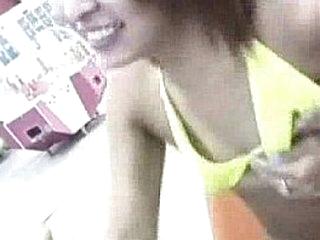 Yoke Asian girls adjacent to bikinis are adjacent to an amusement hall, from http://alljapanese.net