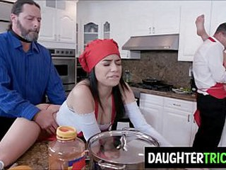 Background bonding escalated into Daughters beastlike fucked at the end of one's tether Fathers