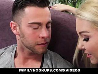 FamilyHookups - Hot MILF seduces  And Fucks Sisters BF