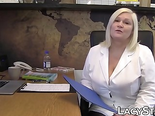 Alloy Lacey Starr treats will not hear of patient all round strapon fuck