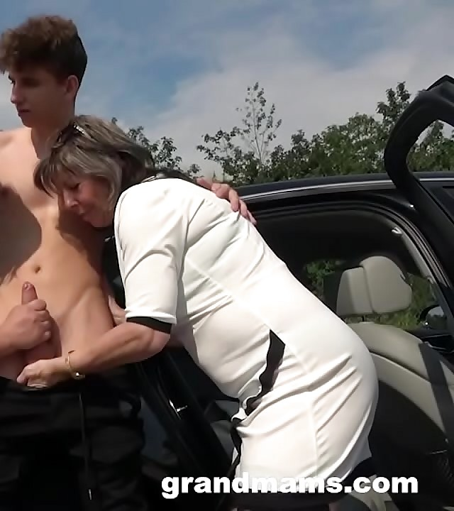 ?2 Grannies Just Fucked Me on every side Public!