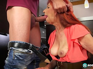 Charlotta's anal coming out - 60PlusMilfs
