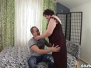 Old granny fucked wits youth smutty rafter