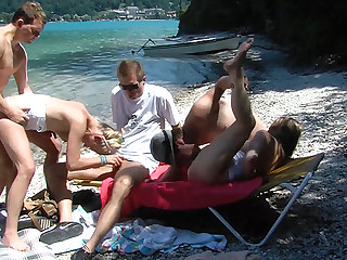 bring in b induce family therapy beach orgy