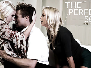 Alexis Fawx Arya Fae Michael Vegas in The Perfect Son - PureTaboo