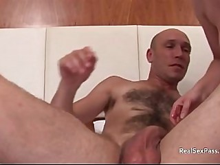Buggering his best friends get hitched behind his on every side