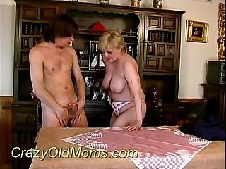 Crazy grey mam sucking hard sex