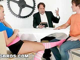 Fucking dimension divine service featuring  Bailey Brooke.